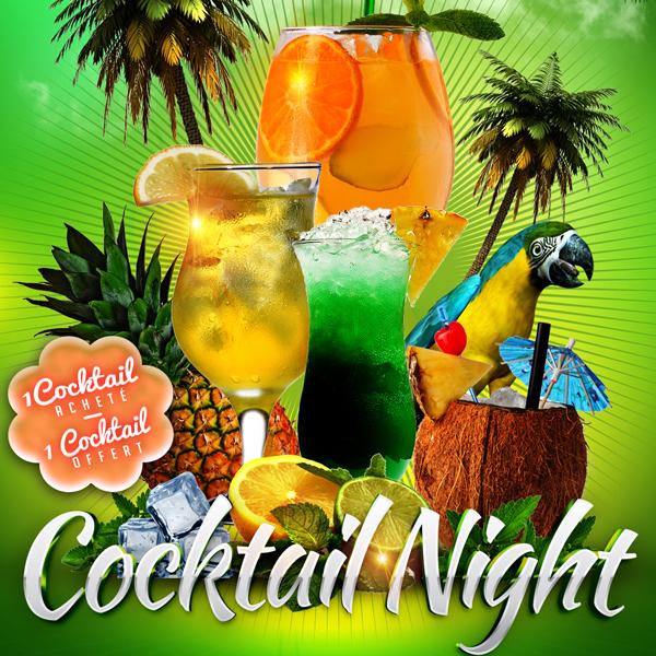 DIMANCHE : Soirée Cocktail Night