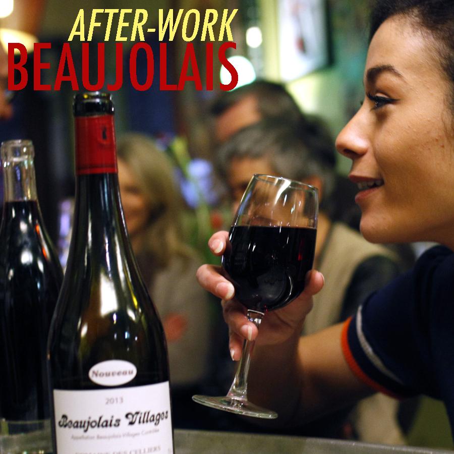 JEUDI 16 NOVEMBRE : Afterwork Beaujolais Nouveau