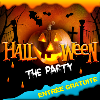 Mercredi 31 Octobre : HALLOWEEN THE PARTY