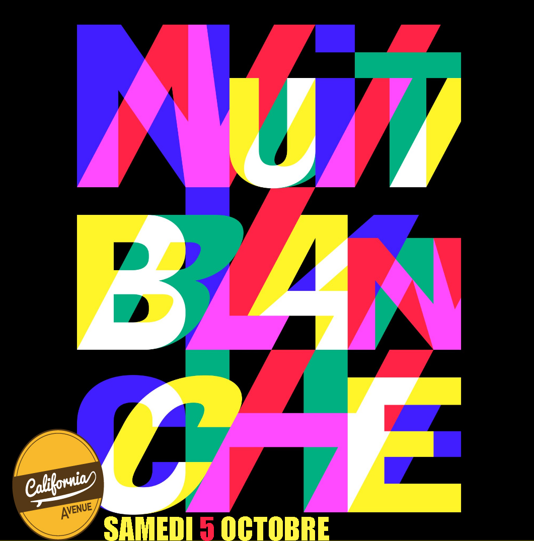 SAMEDI 5 OCTOBRE : Nuit Blanche