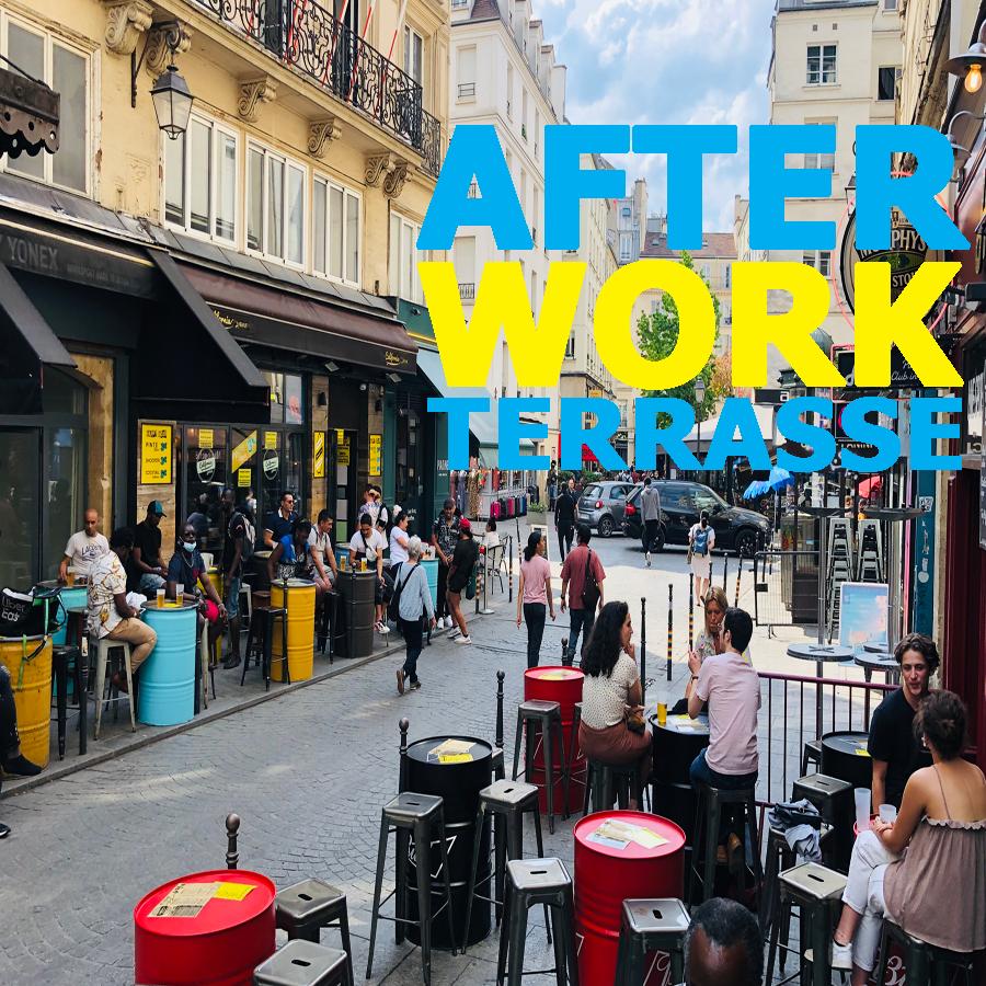 AFTER-WORK & HAPPY-HOUR en Terrasse